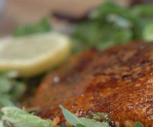 Recipe: Miso-Honey Glazed Salmon